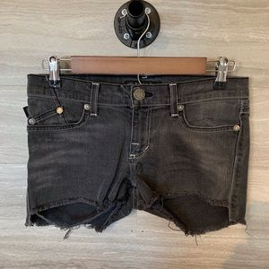Rock And Republic Shorts Size 8 Gray Wash Cut Off